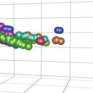 nir spectrum data base plastic. open jdx data format